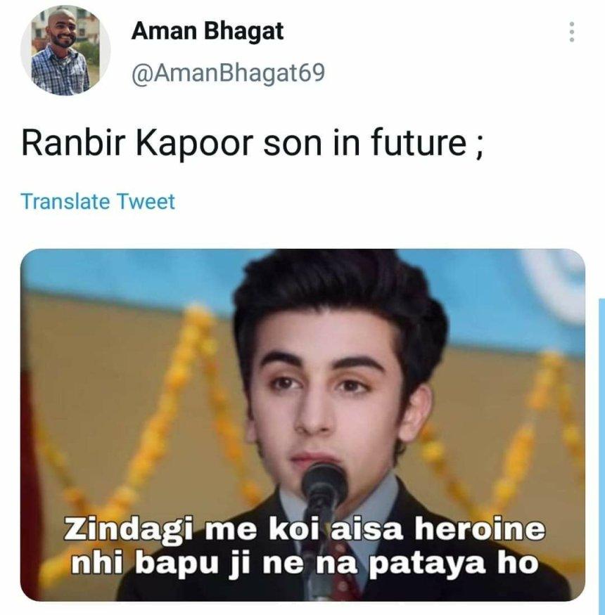 aisa koi kaam nahi meme & Ranbir Kapoor memes