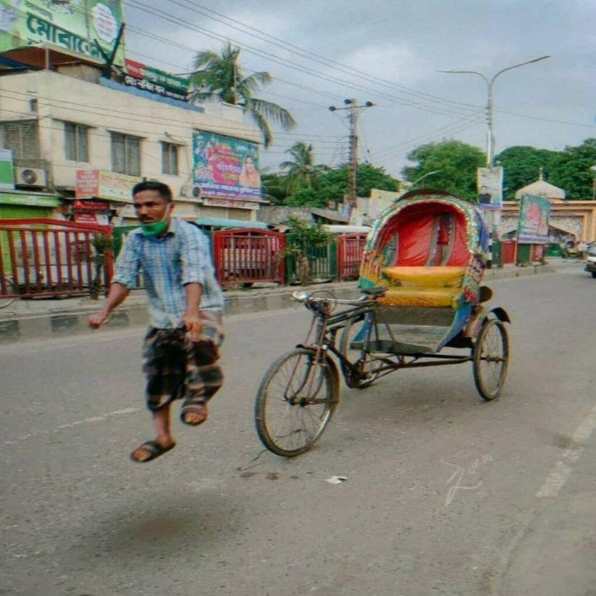 rickshaw meme template