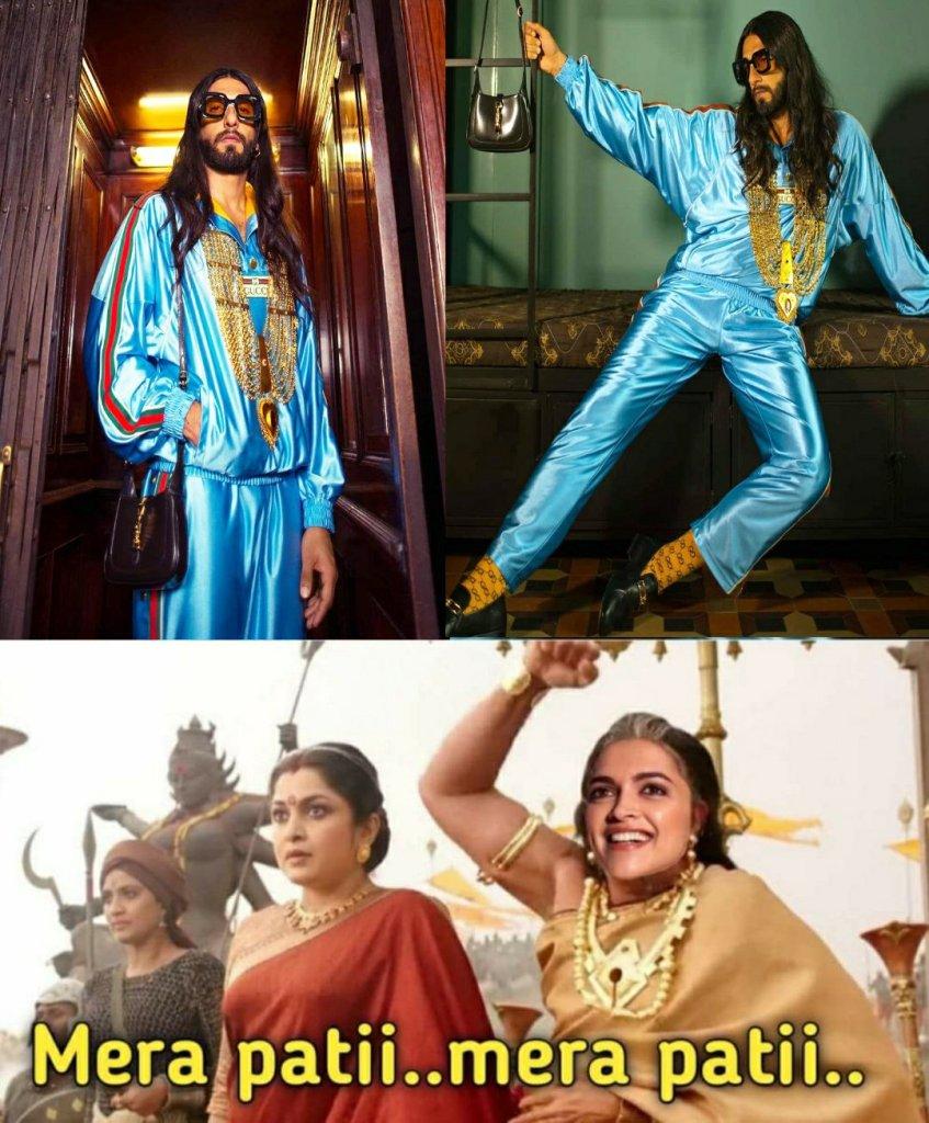 Ranveer Singh new look memes