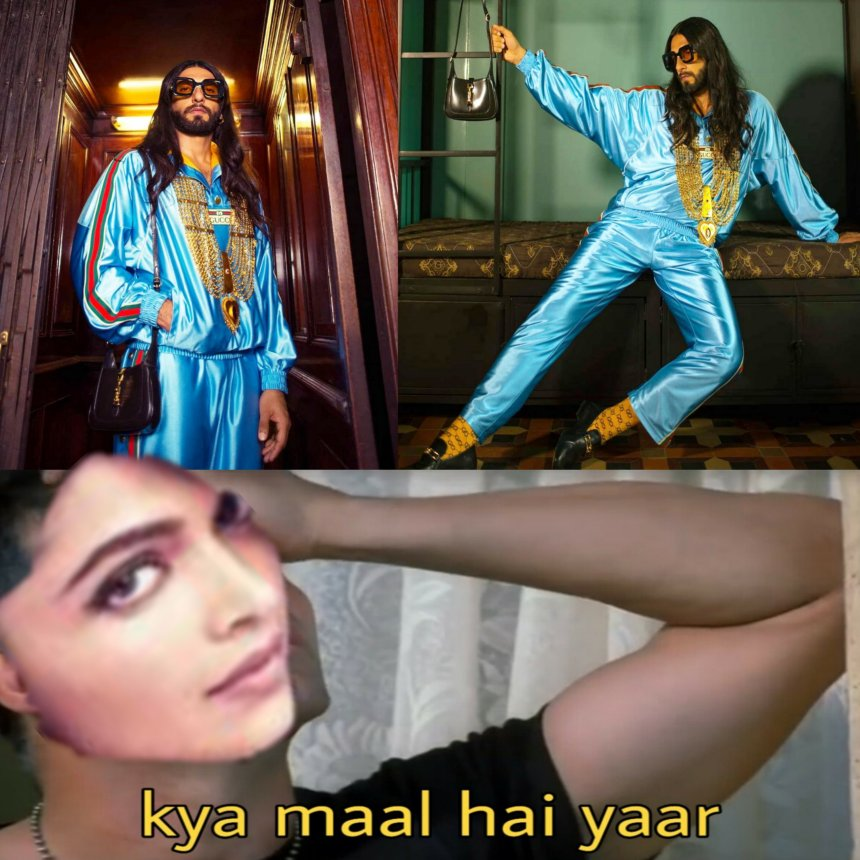 Deepika Padukon and Ranveer Singh Memes