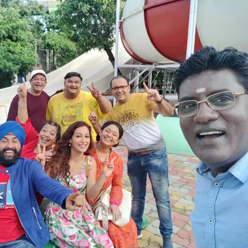 TMKOC team pictures from the Resort