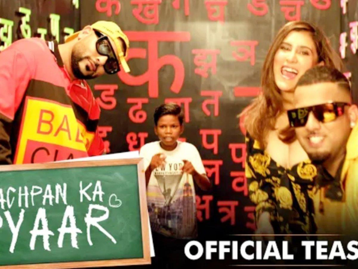 Bachpan ka Pyar Song by Badshah, Sahdev, Astha gill