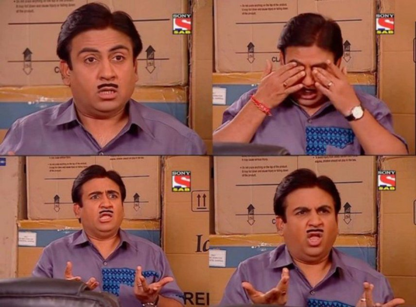 Funny Reaction of Jethalal