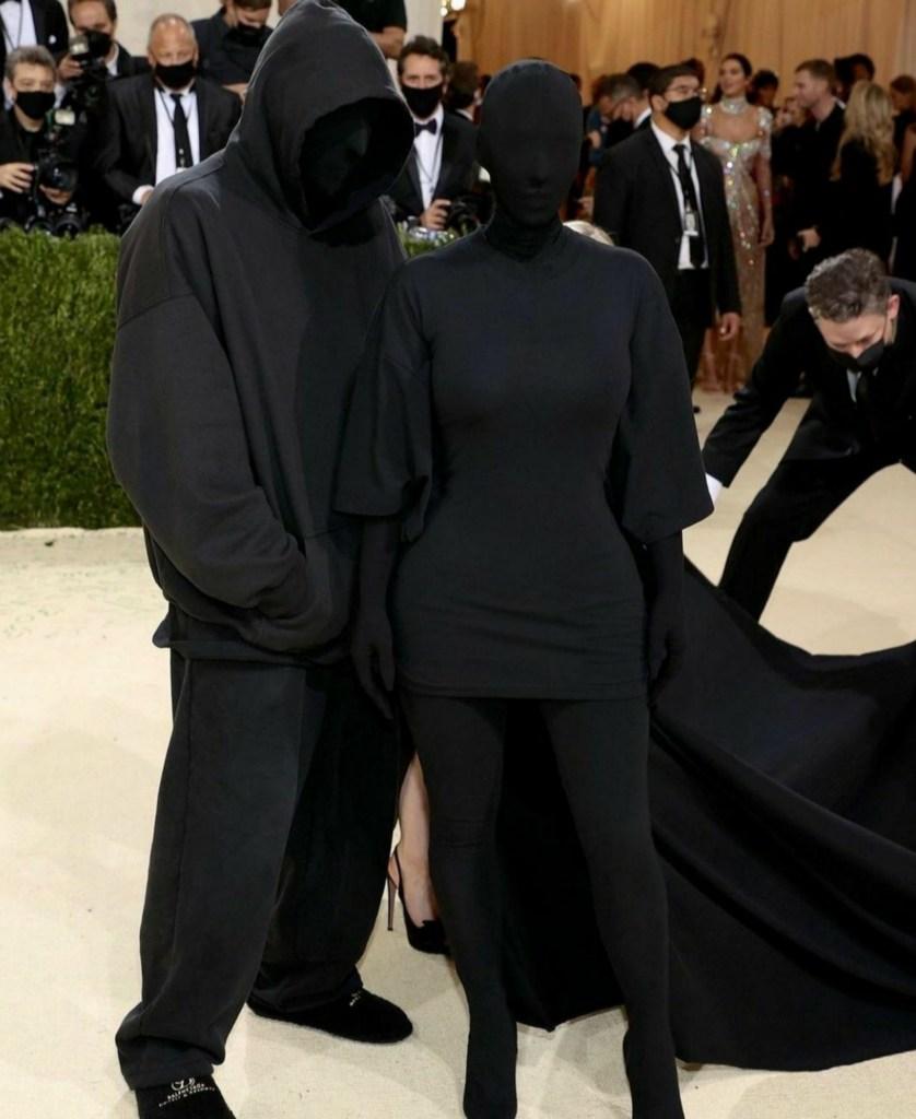 Met Gala Kim Kardashian meme template