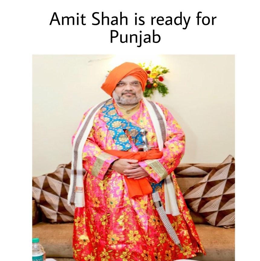 Punjab BJP memes