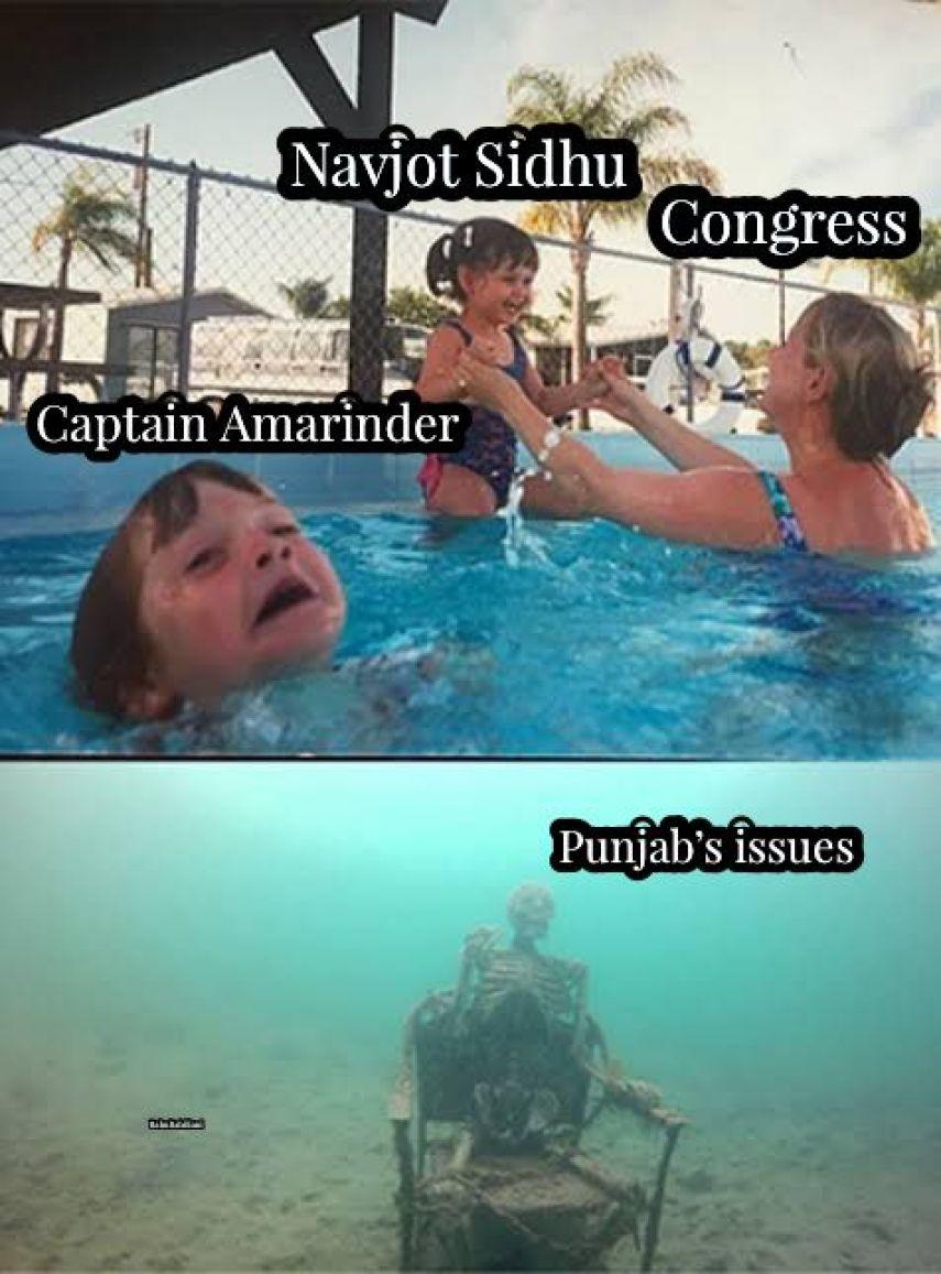 Latest Punjab Congress memes