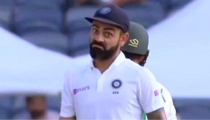 Virat Kohli funny face template