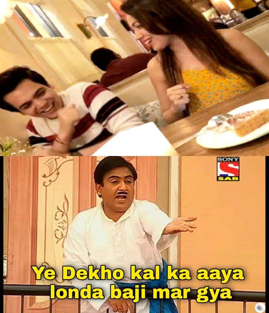 Babitaji and Jethalal memes