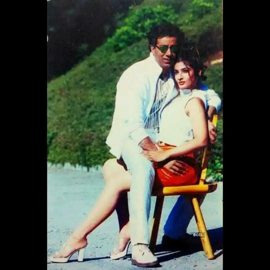 Ravina and Sunny Deol funny Photoshoot