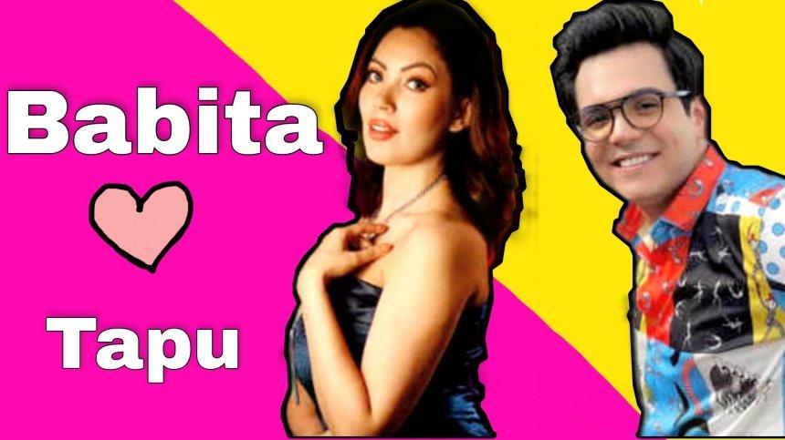 Latest TMKOC Tapu and Babita ji relationship memes