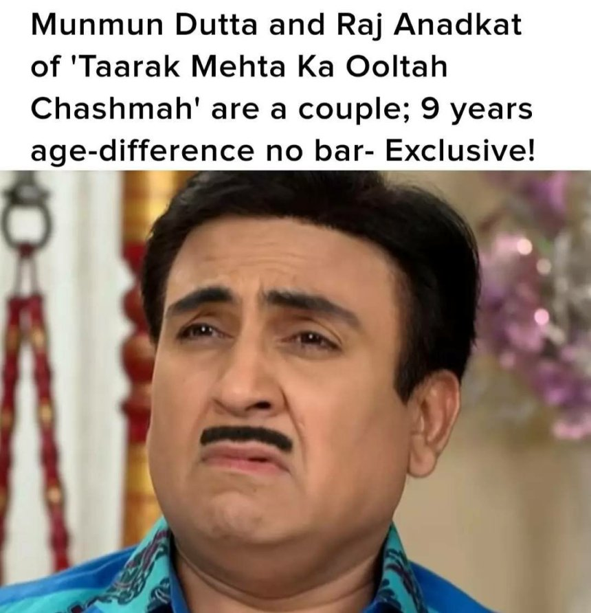 Tapu and Babita ji relationship memes