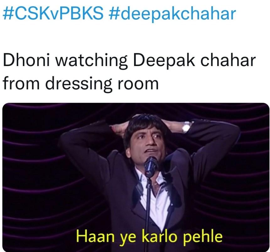 CSK Dhoni memes