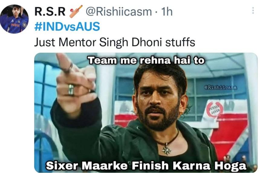 Ms Dhoni memes
