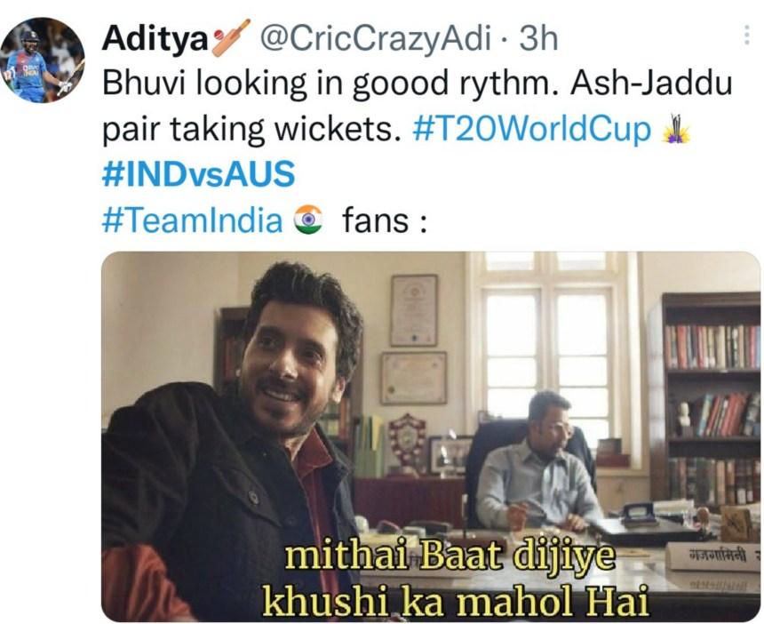 India vs Australia memes