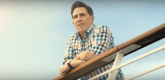 rob brydon P&O advert