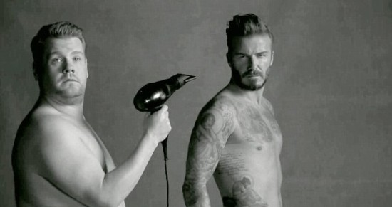 James Corden Advert Beckham