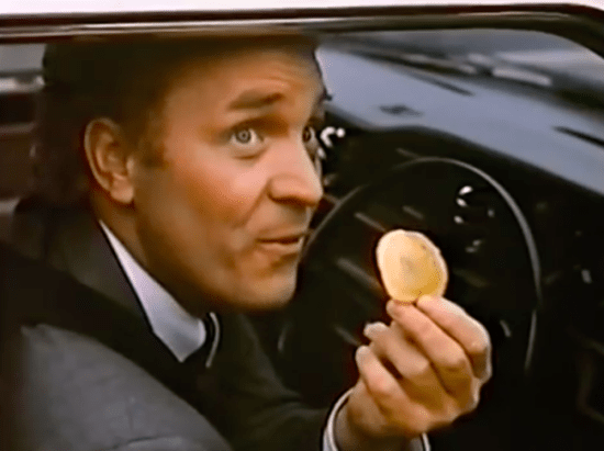 Tudor Crisps advert terry