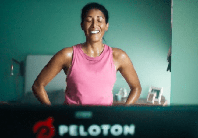 Peloton advert