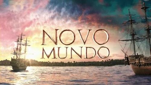 logotipo de novo mundo telenovela