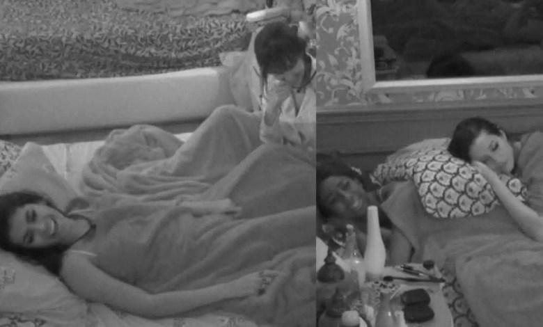 sisters fazem planos para festa no quarto colorido (foto: reprodução/tvglobo/globoplay)