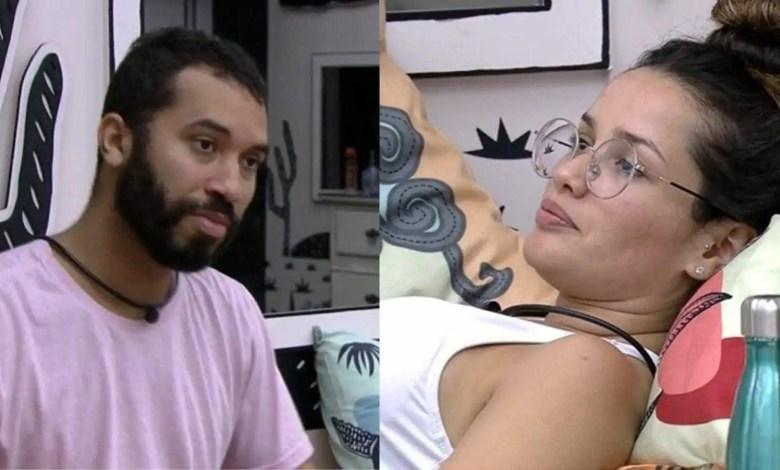 gilberto e juliette conversam no quarto cordel (reprodução/tvglobo/globoplay)