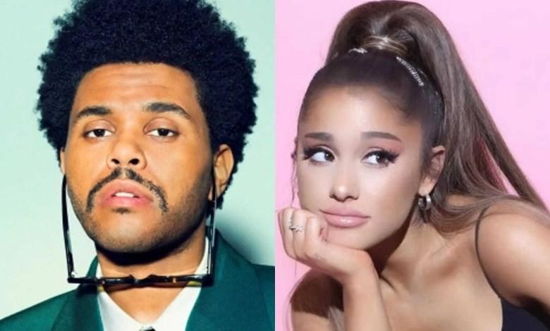The Weeknd e Ariana Grande (Reprodução/Internet)