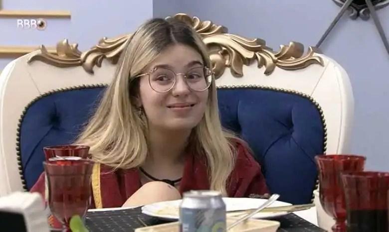 Viih Tube no almoço do Líder (Reprodução/TVGlobo/Globoplay)