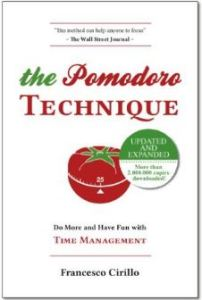 Adult ADHD Distractions The Pomodoro Technique book cover