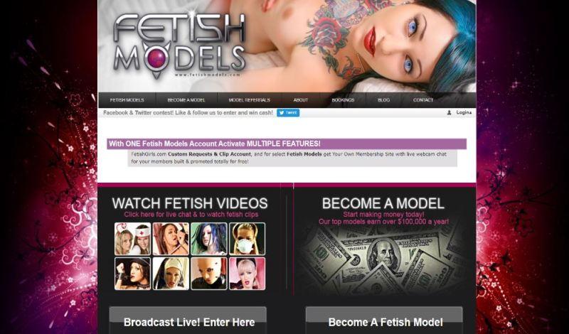 FetishModels - Layout
