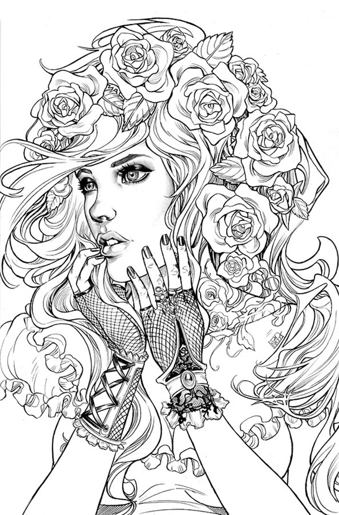 Adult Fairy Tale Coloring Books Adultcoloringbookz