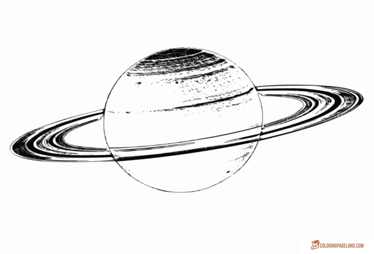 Saturn Coloring Pages Free Coloring Pages Download | Xsibe jupiter ...