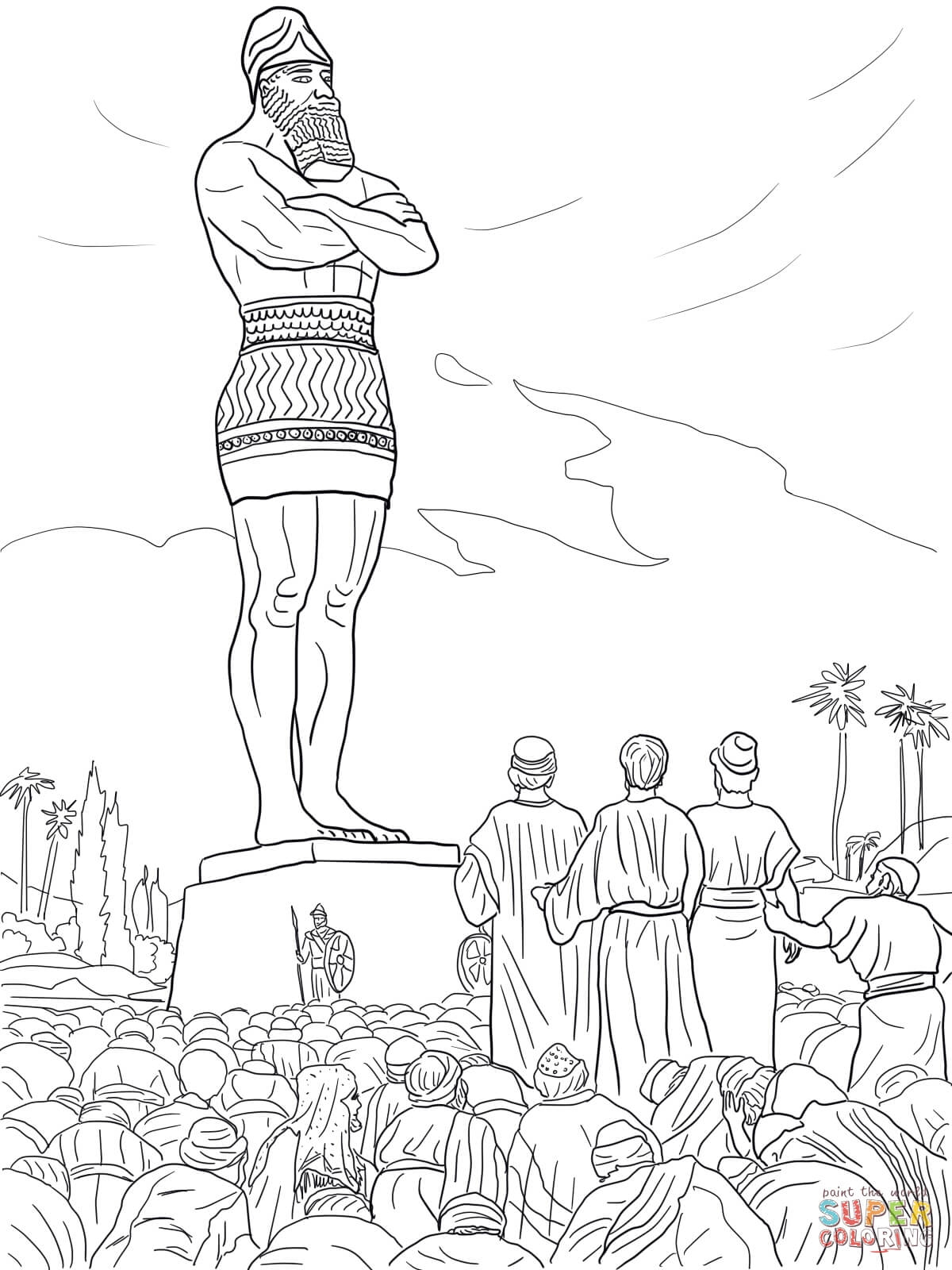 24 Shadrach Meshach And Abednego Coloring Page Pictures