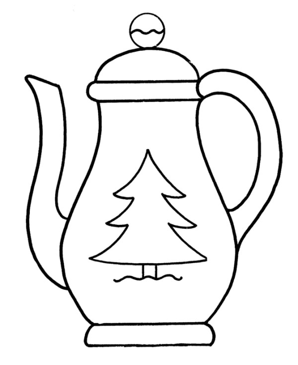 teapot coloring page # 59