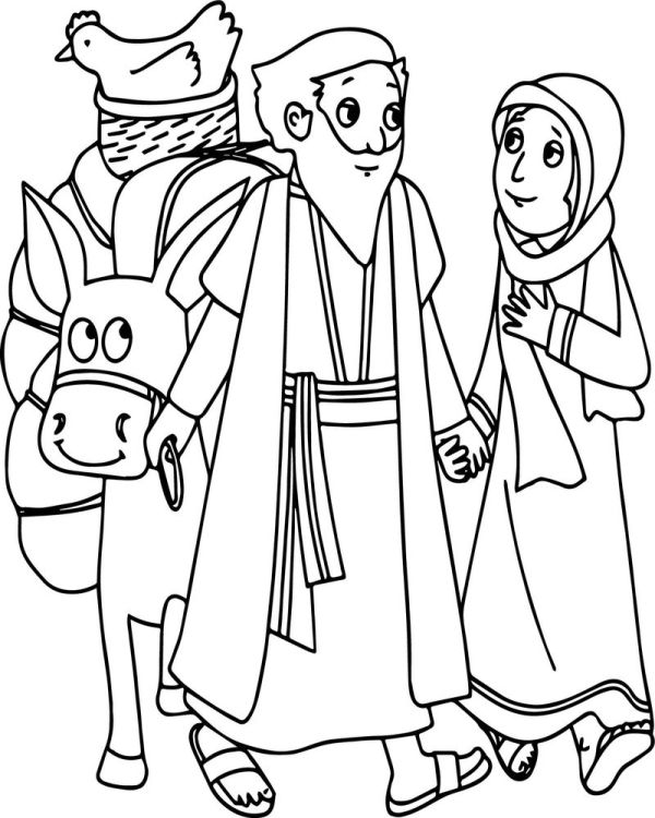 abraham and sarah coloring pages # 23