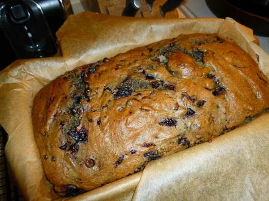 Can't Tell a Lie Cherry and Chocolate Chip Quick Bread