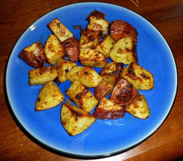 Sriracha Oven Roasted Potatoes