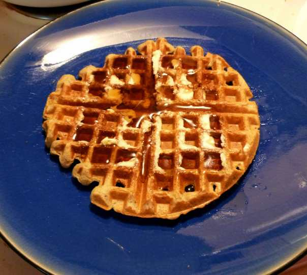 Gluten Free and Dairy Free Buttermilk Waffles