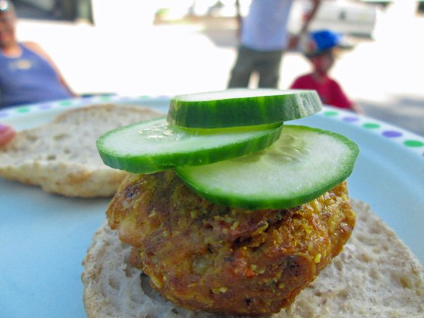 Tandoori Chicken Burger