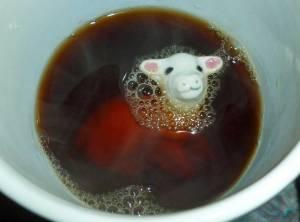 Mug of a Knitter after coffee