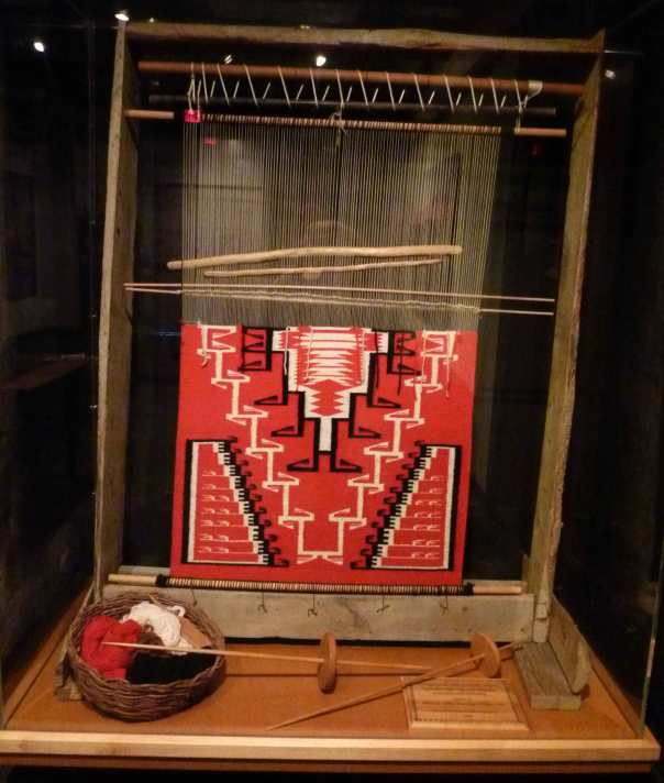 Tapestry Loom at Arizona State Museum