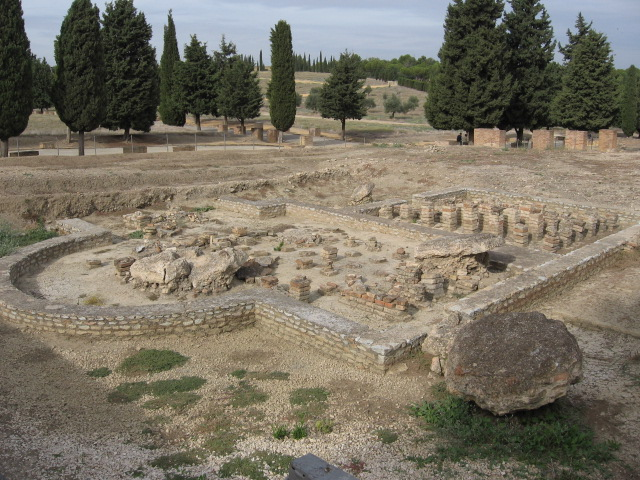 April is Archaeology Month, so here are some Roman Ruins from Spain hosting the Friday Finds