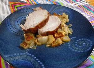 Autumn Spiced Pork Loin