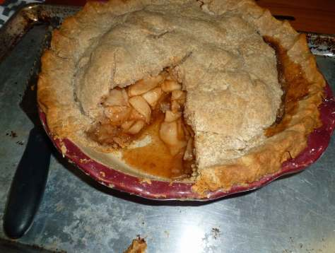 Gluten-free Apple Pie (vegan option)
