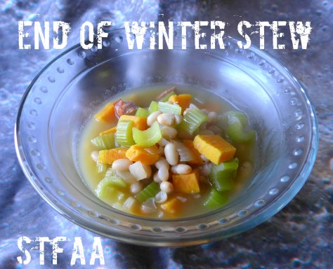 End of Winter Stew without Rice