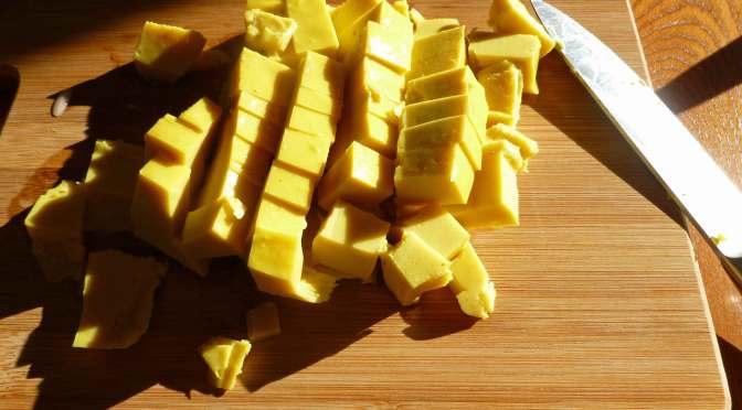 """Eggy"" Burmese Tofu"