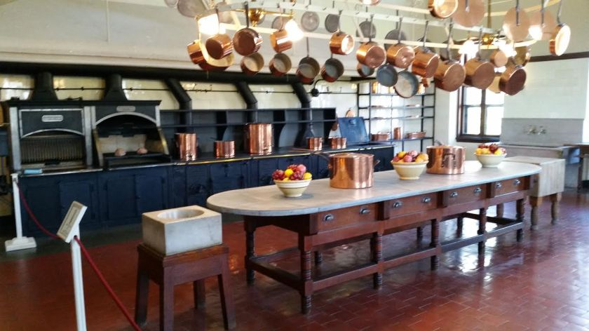 kitchen at the Breakers