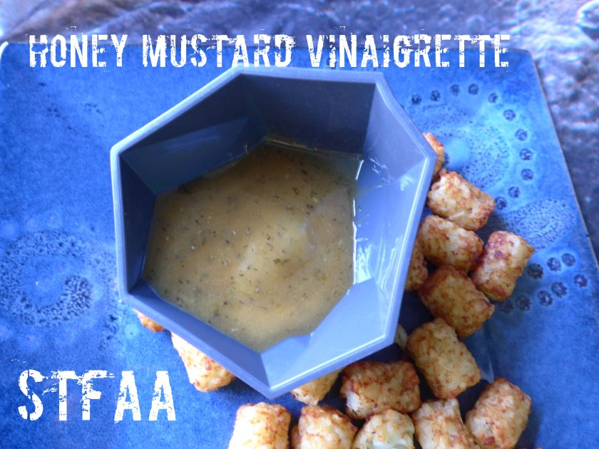 Honey Mustard Vinaigrette (with tater tots)