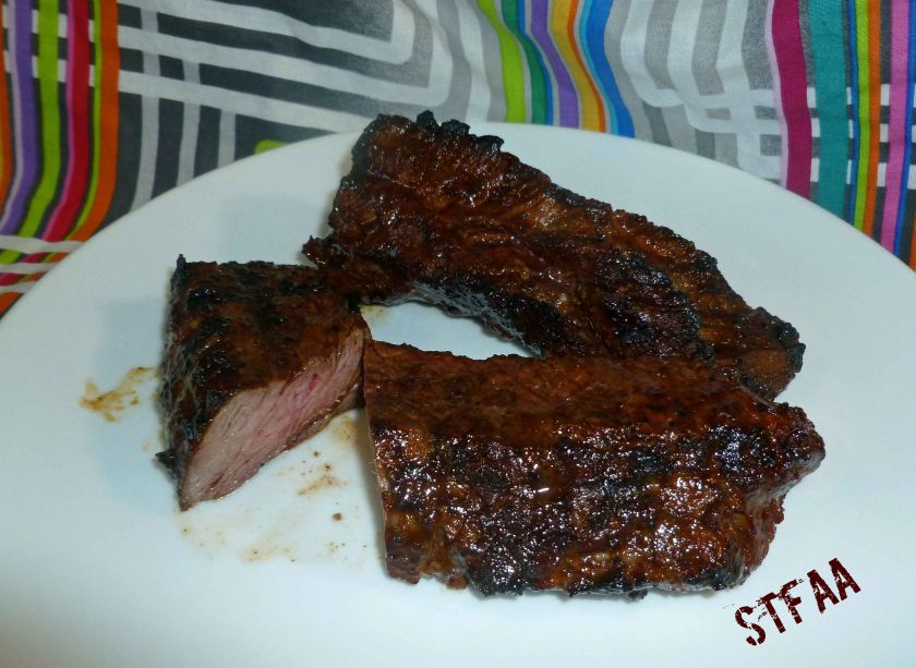 Fajita Marinated Steak Tips