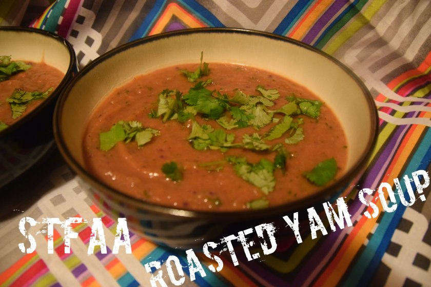 Roasted Yam Soup