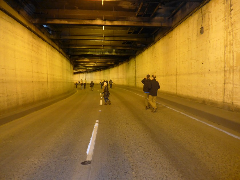Battery Street Tunnel, built 1952, SR99, Belltown, Seattle
